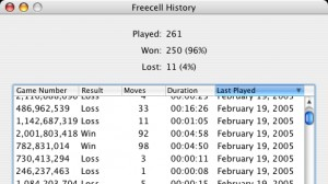 FreeCell for Mac 2