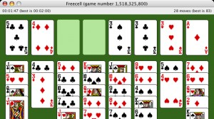 FreeCell for Mac