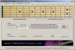 Advanced FretPro Guitar Notes, Chords and Scales Trainer