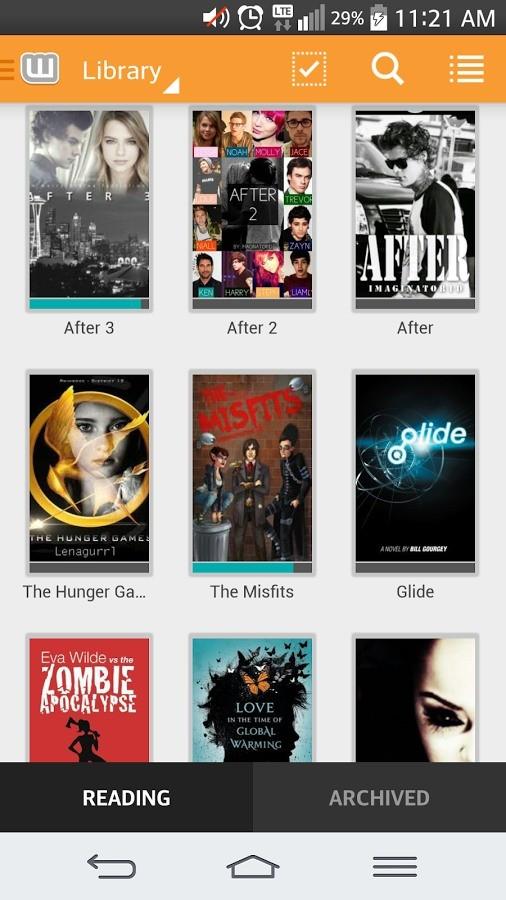 Wattpad Hikaye Okuma Ve Paylaşım Uygulaması