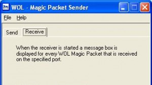 WOL Magic Packet Sender