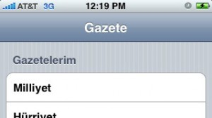 Gazete (iPhone)