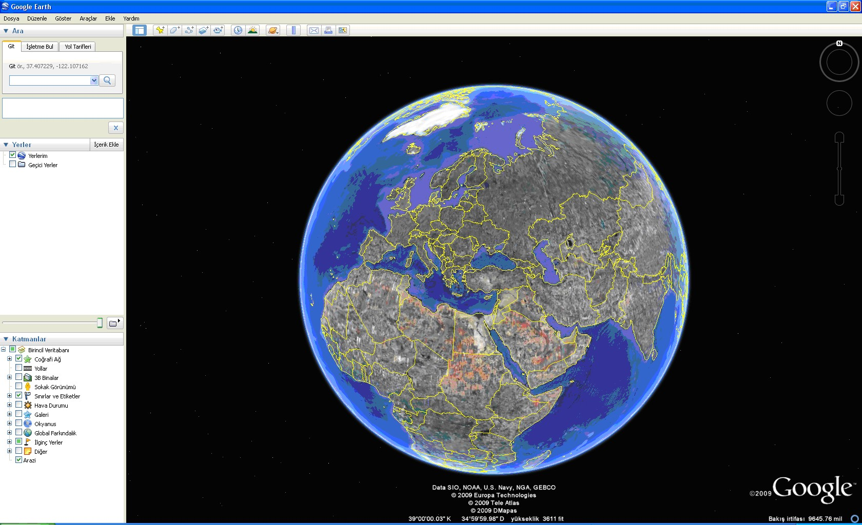 Google Phone Tracker >> Google Earth Pro - Harita Programı