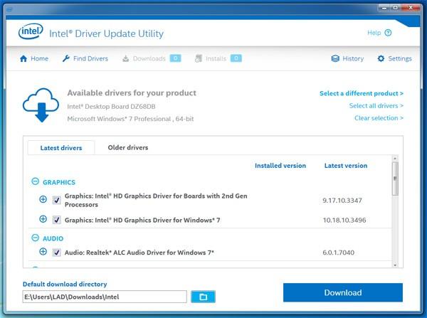 Intel D945gclf2d Drivers Download
