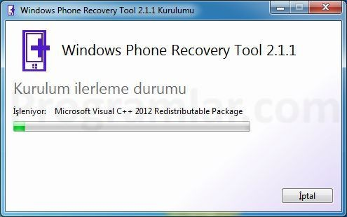 Windows Phone Recovery Tool Kullanimi