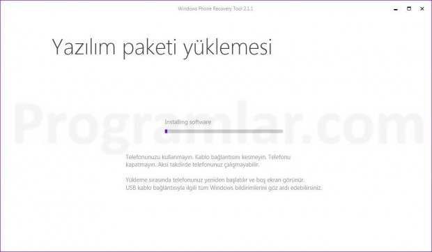 Windows Phone Recovery Tool Kullanımı