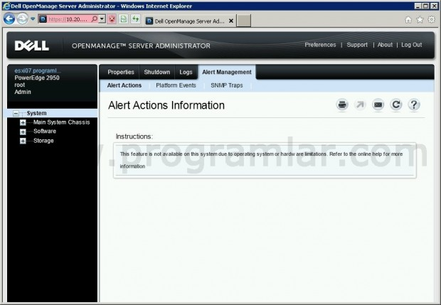 Vmware Esxi 4.1 Dell Open Manage Server Administrator Alert Actions