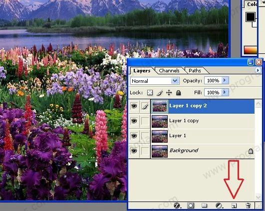 Photoshop Eğitimi Sulu Boya Efekti Programlarcom