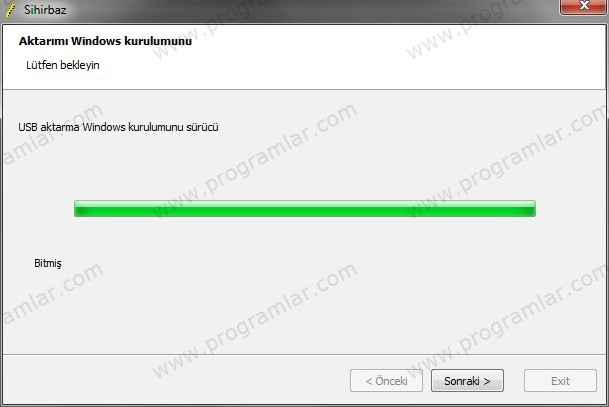 USB\\\ den Windows Kurmak