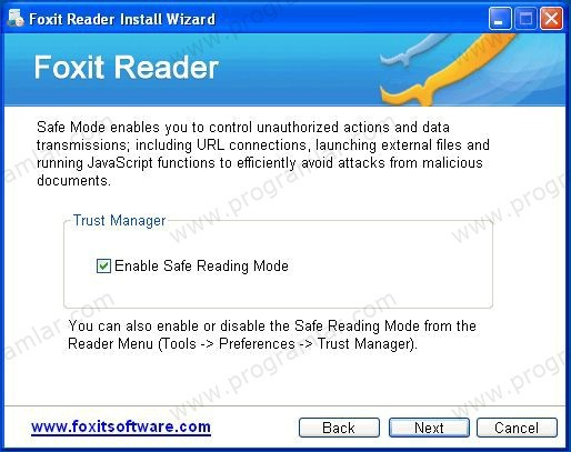 Alternatif PDF Programı Foxit Reader