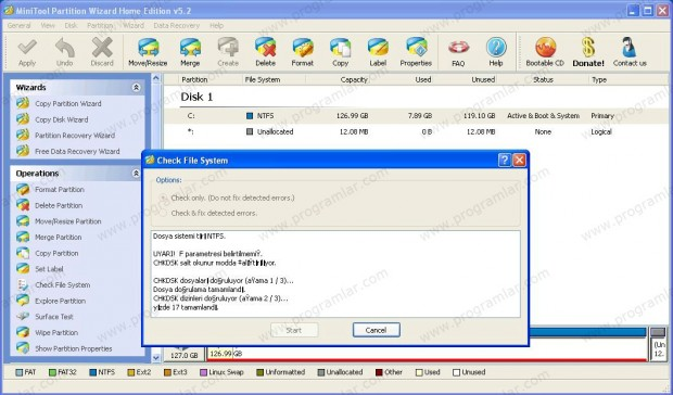 Partition Wizard Home Edition İncelemesi