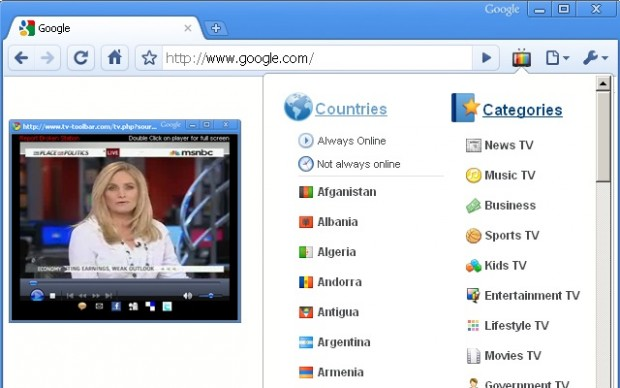 En iyi Google Chrome Eklentileri - Chrome TV