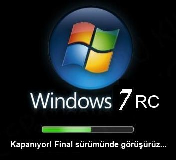 Windows 7 RC veda ediyor